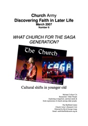 Discovering Faith In Later Life No. 6-1