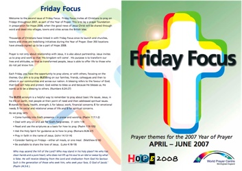 Friday Focus Ed2 - Standard